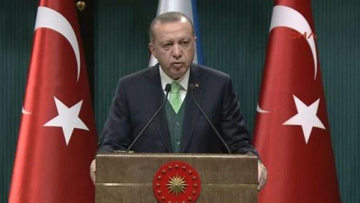 Cibuti Cumhurbaşkanı Erdoğan'la Külliye'de Basın Toplantısı Yaptı