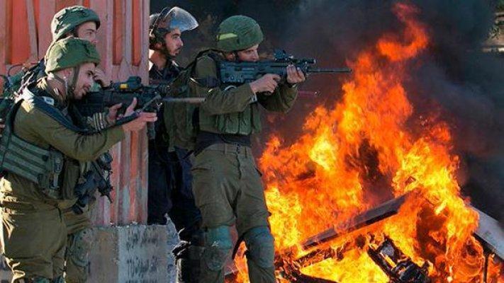 Kudüs'te İsrail Askerleri Halka Gerçek Mermilerle Müdahale Etti 95 Kişi Yaralandı