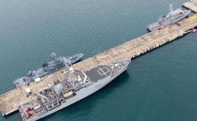 NATO Savaş Gemileri Karadeniz'e Demir Attı