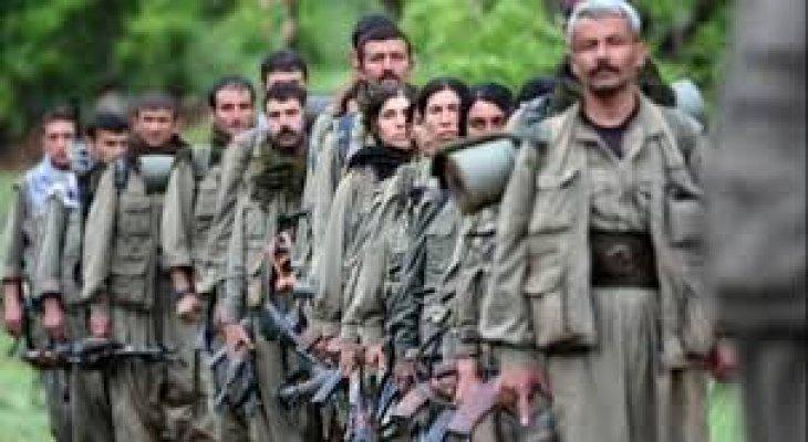 Afrin'de PKK Mensupları Geri Çekilmek İsteyince Birbirlerine Girdiler