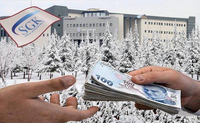 Erciyes Üniversitesi'ne 700 Bin TL'lik Ceza