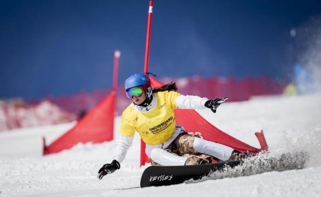 Erciyes'te Dünya Snowboardçuları Yarışacak