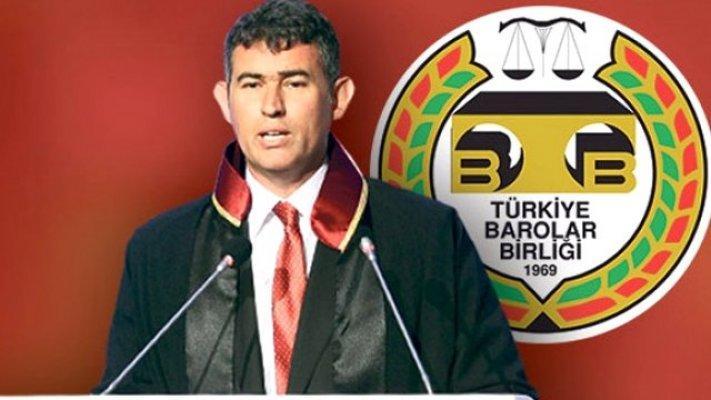 Türkiye Barolar Birliği Başkanı Fevzioğlu '' Kimse Silemez Onu'' Dedi