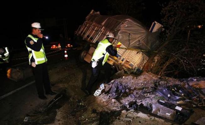 Nevşehir'de Katliam Gibi Kaza: 5 Ölü 4 Yaralı