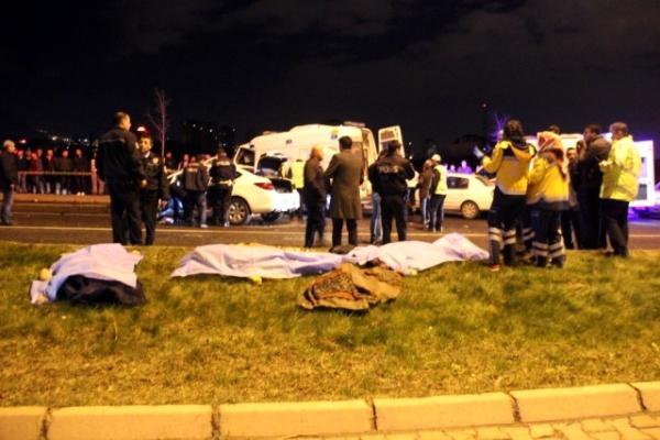 Trafik kazasında ölenlerin sayısı 7'ye yükseldi!