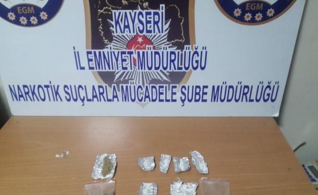 Kayseri'de bonzai operasyonu: 2 gözaltı