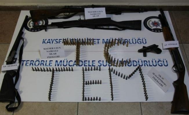 Kayseri'deki PKK operasyonu!