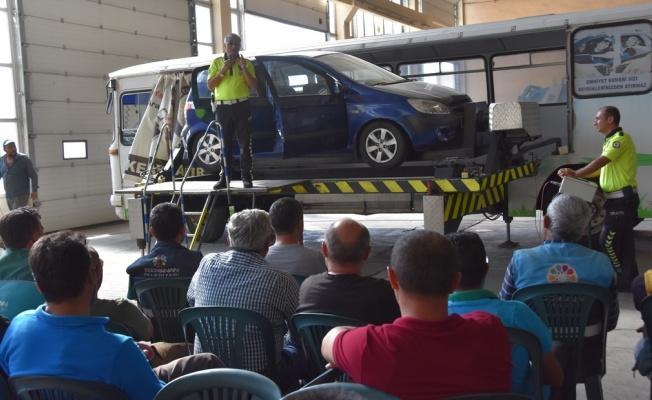Kocasinan'dan Şoförlere Trafik Eğitimi