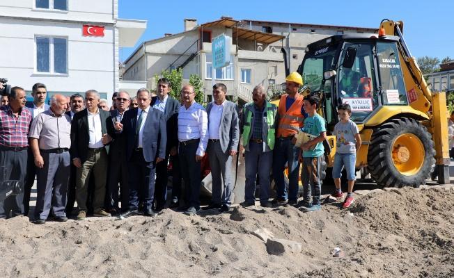 Talas Belediyesi'ndan Başakpınar'a Büyük Hizmet
