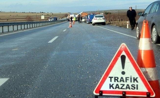 Kayseri'de otomobil şarampole uçtu: 1 Ölü