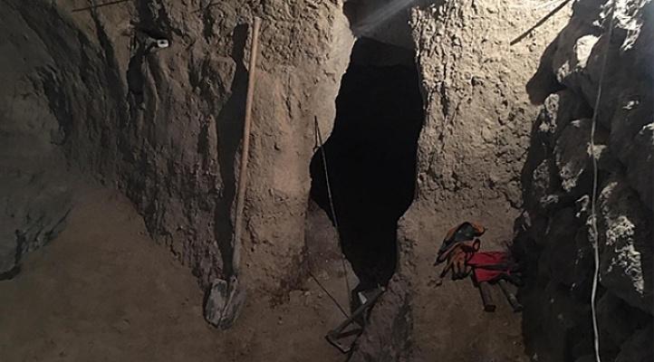 Evin bodrumunda kazı yapan şahıs yakalandı!