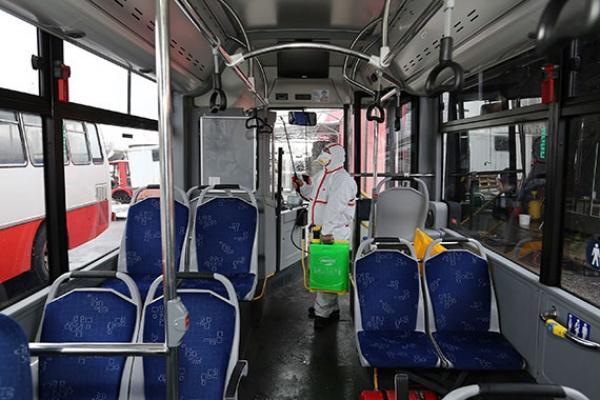Kayseri belediye otobüs şoförleri ve servis elemanlarında Corona tespit edildi