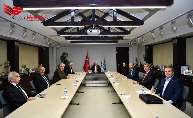 Kayseri'de Siyasiler Dayanışma İçerisinde