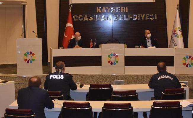 Kocasinan'da Hafta Sonu İçin Önlem Alındı