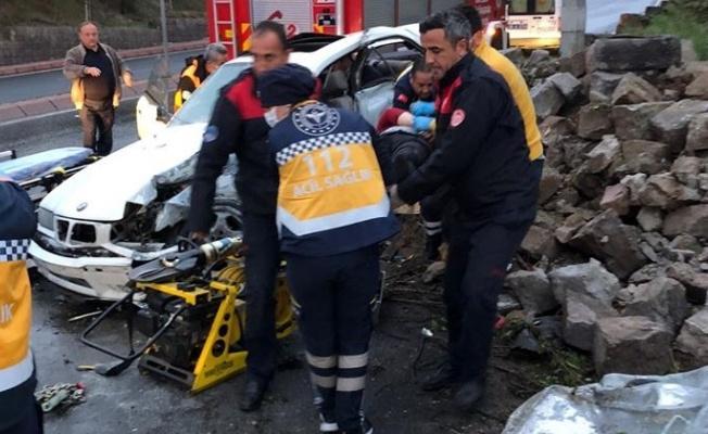 Feci kazada 1 kişi öldü, 2 kişi yaralandı!