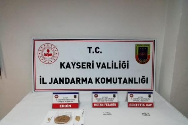 Kayseri'de eroin operasyonu: 6 gözaltı