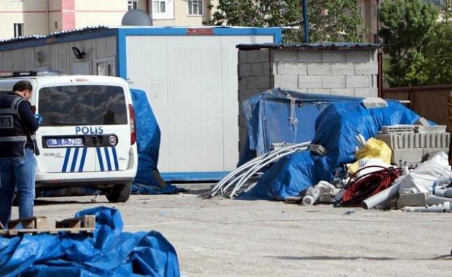 Kayseri'de inşaat bekçisi kulübede ölü bulundu!