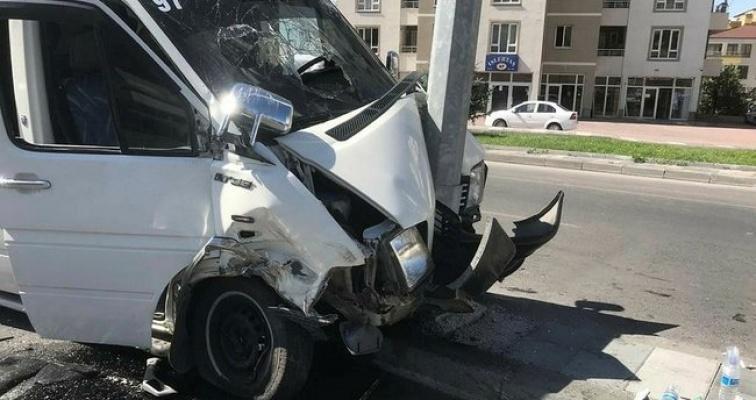 4 araç kaza yaptı: 7 yaralı!