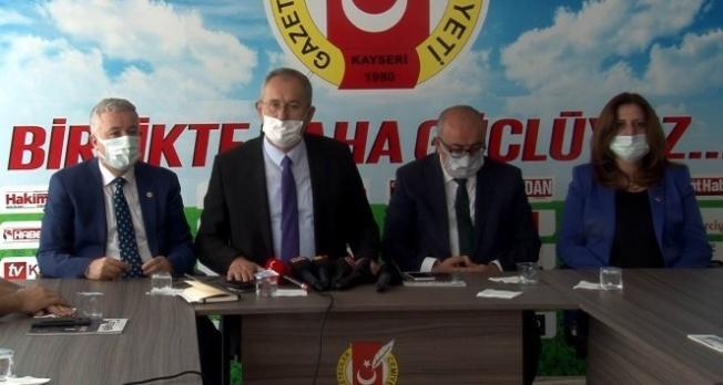 """Başkan Veli Altınkaya: """"Her 3 gazeteciden 1'i işsiz"""""""