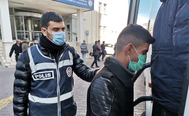 Kayseri'de eş zamanlı operasyon: 17 gözaltı