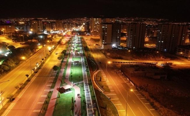 Başkan Çolakbayrakdar'dan Kayseri'ye kazandırılan modern parklar, göz dolduruyor