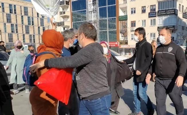 Kayseri'de duruşma sonrası kavga
