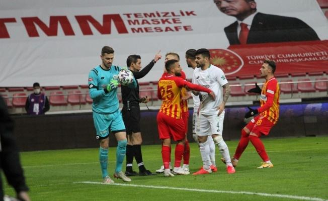Kayserispor'un itirazı reddedildi