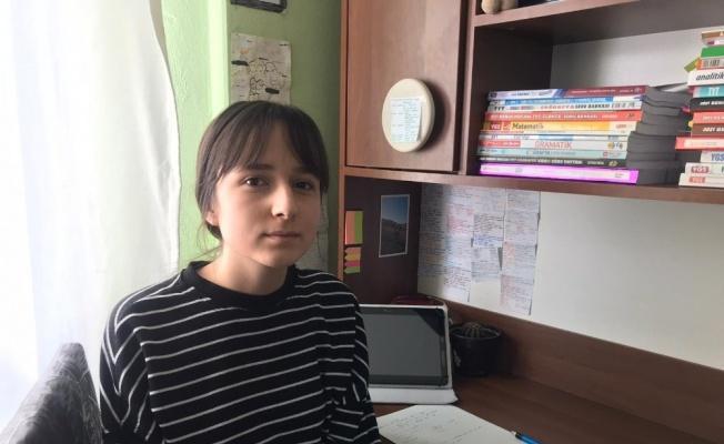 Milli Eğitim Bakanı Ziya Selçuk'un paylaşım yaptığı öğrenciden teşekkür