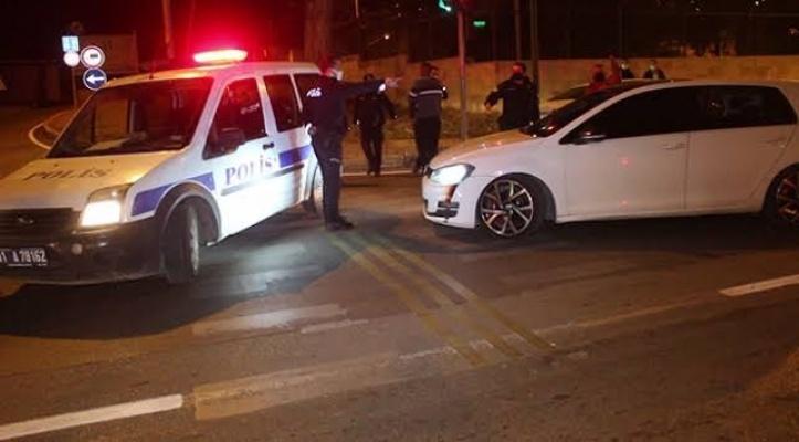 Polisin 'dur' ihtarına uymadı, kıskıvrak yakalandı