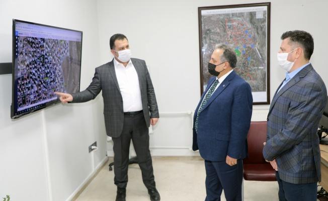 Talas'ta kış çalışmaları koordinasyon merkezi kuruldu