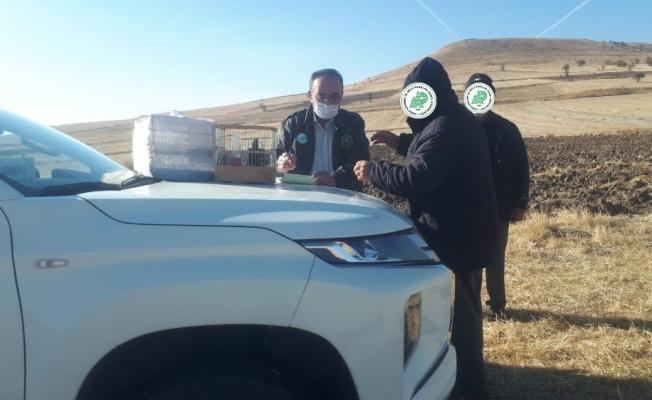 Yasa dışı avcılara 14 bin TL  ceza kesildi!