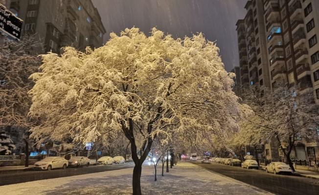2021 Yılının Kayseri'ye ilk karı düştü