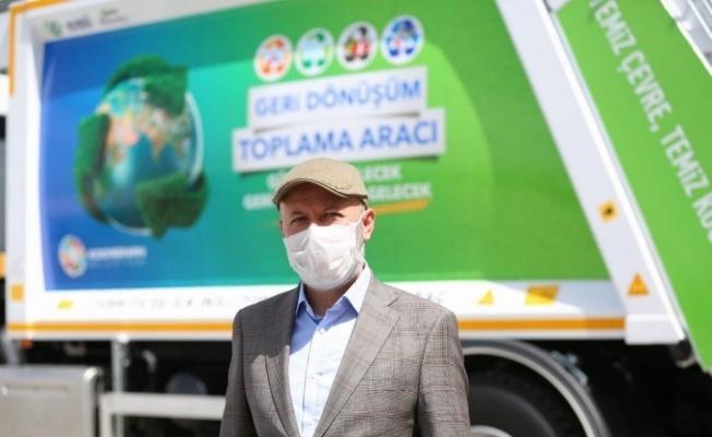 'Çevreci Başkan' farkı ile 5 yılda geri dönüşümle 451 bin ağaç kurtarıldı ve 520 bin ağaç dikildi