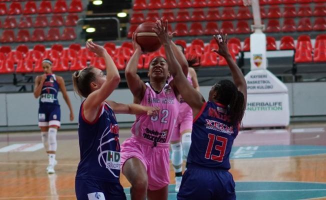 Kadınlar Basketbol Ligi: Bellona Kayseri: 96- Adana Basketbol:73