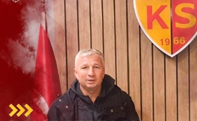 Kayserispor Petrescu'yu duyurdu