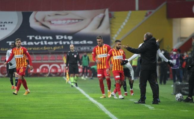 Kayserispor: 0 - Beşiktaş: 2