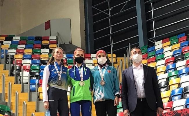 Balkan Şampiyonası'ndan bir gümüş bir bronz madalya