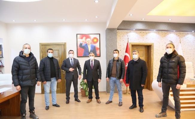"""Başkan Mehmet Cabbar: """"Maden işçilerimizin taleplerinde mutlu sona ulaştık"""""""