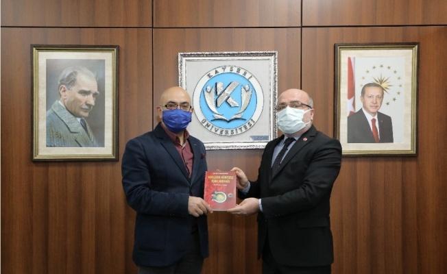 Erciyes A.Ş. Yönetim Kurulu Başkanı Cıngı, Rektör Karamustafa'yı Ziyaret Etti