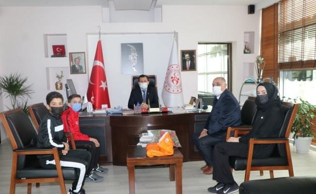 Karatecilerden Kabakcı'ya ziyaret