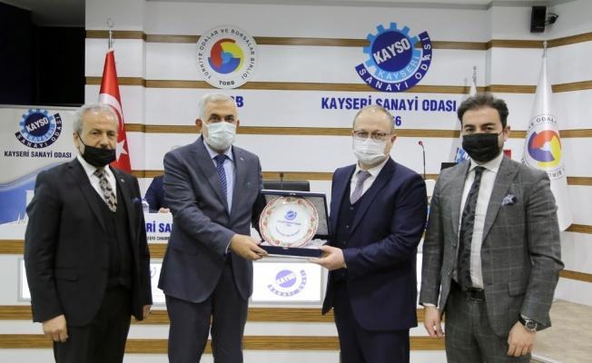Özbekistan İşadamları Heyetinden KAYSO'ya Ziyaret