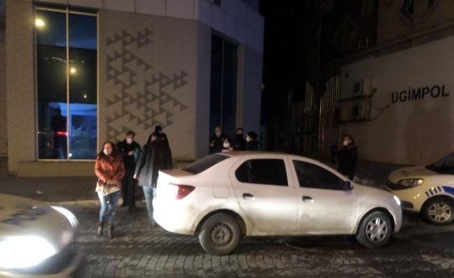 Polisten kaçan ehliyetsiz sürücü ve 3 arkadaşı kovalamaca sonucu yakalandı