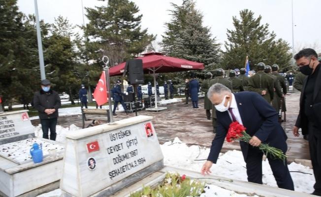 """Başkan Büyükkılıç: """"106 yıl önce ecdadımız 'Çanakkale Geçilmez' demiştir"""""""