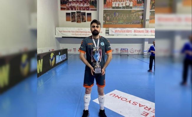 """Develi Belediyespor Voleybol Takımı oyuncusu Yusuf Afşar: """"Şampiyonluk hayırlı olsun"""""""