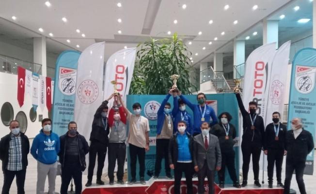 Havalı Silahlar Türkiye Şampiyonası'nda Kayseri rüzgarı