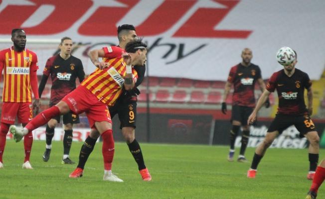 Kayserispor evinde 5 maç sonra kaybetti