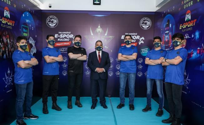 Talas'ta bir ilk daha; Kayseri'nin ilk lisanslı e-spor kulübü