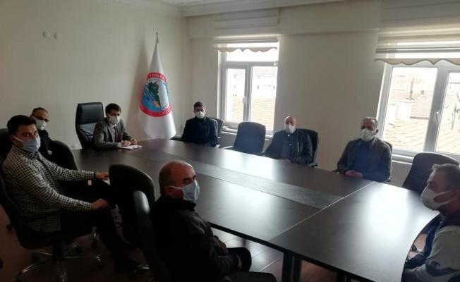 Tomarza'ya Sanayi Odası Kooperatifi kurulması için ilk adım atıldı