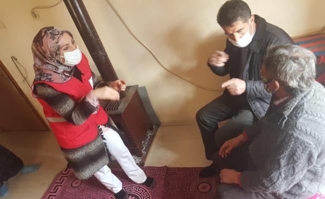 Türk Kızılayı Sessizliğin Sesi Oldu