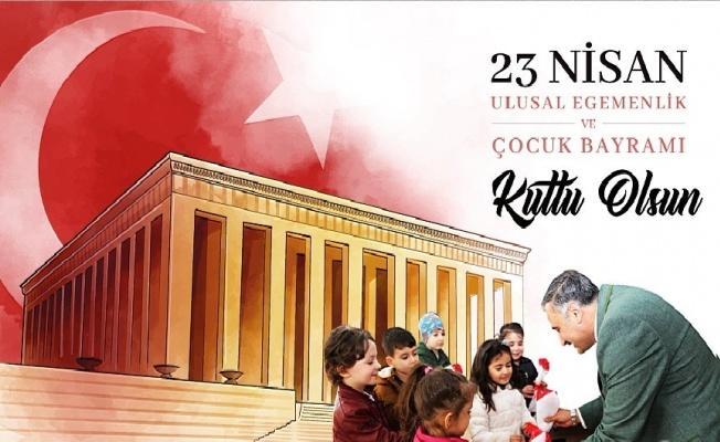 """Başkan Mehmet Cabbar: """"Sevginin ve barışın temsilcisi çocuklarımızın bayramı kutlu olsun"""""""